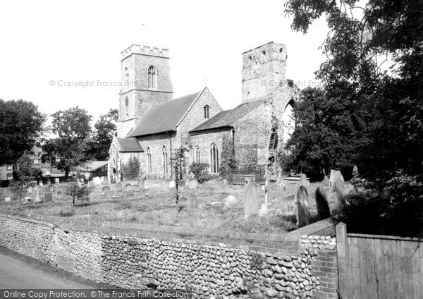 Photo of Weybourne, All Saints Church c.1960