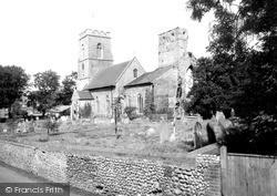 Weybourne, All Saints Church c.1960