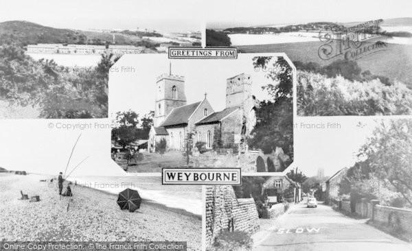 Photo of Weybourne, Composite c.1960