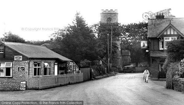 Photo of Weybourne, The Village c.1955