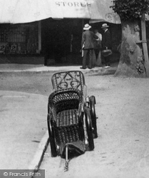 Weybridge, A Bath Chair 1903