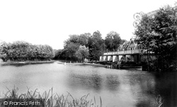 Weybridge, A Boat Station On The Wey 1897