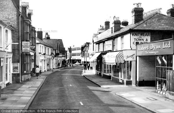Photo of Weybridge, Baker Street c.1965