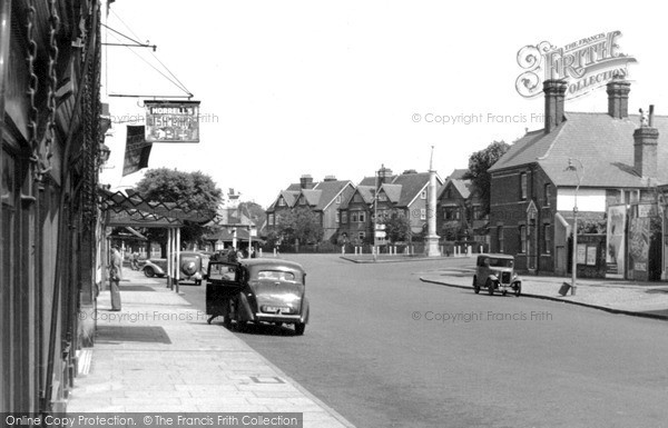 Weybridge, Surrey - High Street c1955  (Neg. w74001)  © Copyright The Francis Frith Collection 2008. http://www.francisfrith.com