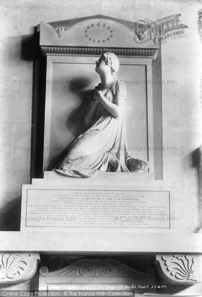 Photo of Weybridge, Church, Duchess of York's Monument 1904