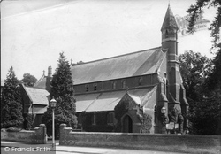 Weybridge, Church Of St Michael And All Angels 1904