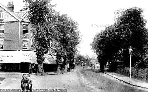 Photo of Weybridge, Church Street 1903
