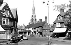 Weybridge, Church Street c.1955