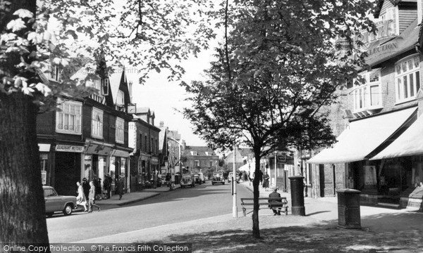 Photo of Weybridge, Church Street c.1955