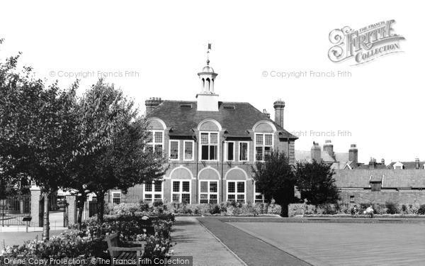 Photo of Weybridge, Churchfields Recreation Ground c.1965