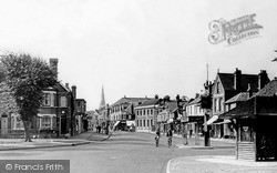 Weybridge, From Monument Green c.1955