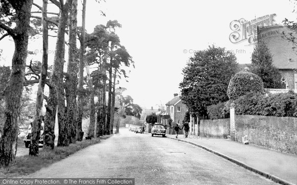 Photo of Weybridge, Heath Road c.1960