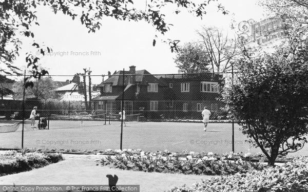 Photo of Weybridge, High Pine Club c1955, ref. w74027