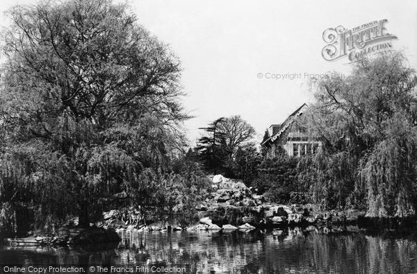 Photo of Weybridge, High Pine Lake c1955, ref. w74028