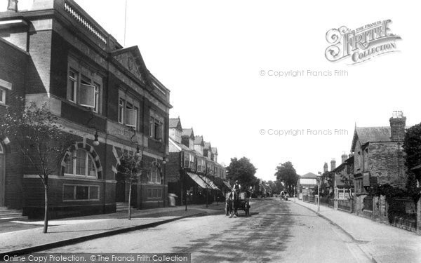 Photo of Weybridge, High Street 1906