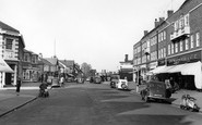 Weybridge, High Street c1955