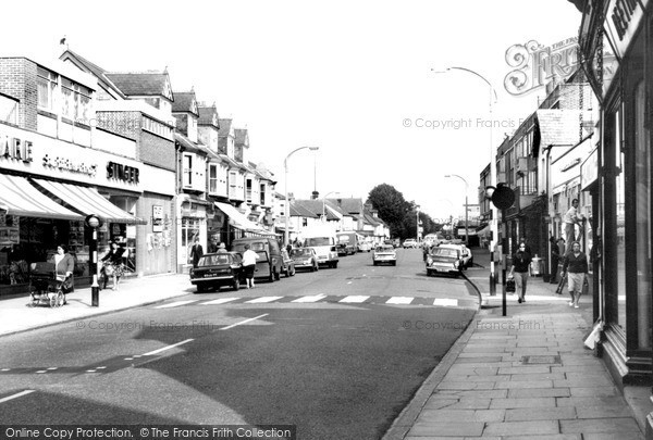 Photo of Weybridge, High Street c.1965