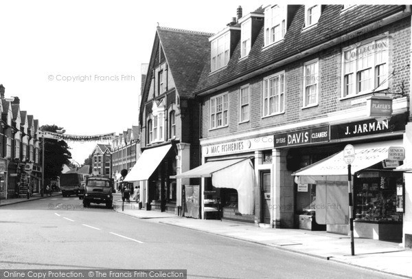 Photo of Weybridge, High Street c.1965