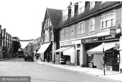Weybridge, High Street c.1965