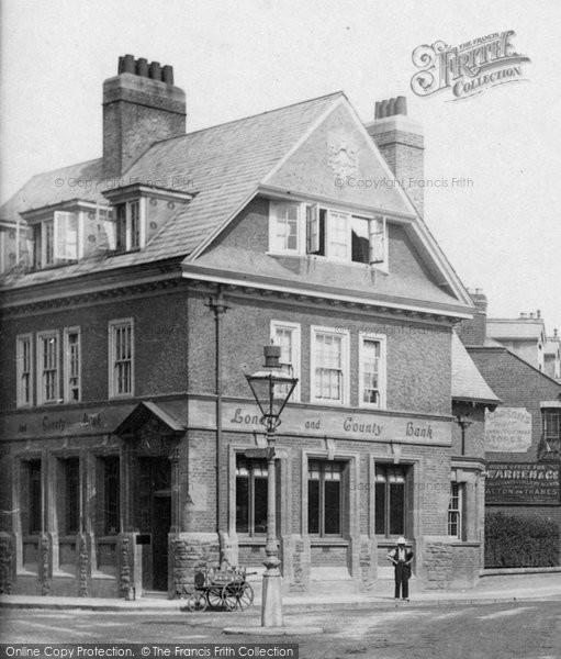 Photo of Weybridge, London and County Bank 1903, ref. 49902v