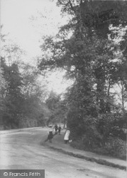 Weybridge, Oatlands Avenue 1906