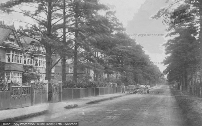 Photo of Weybridge, Oatlands Avenue 1906