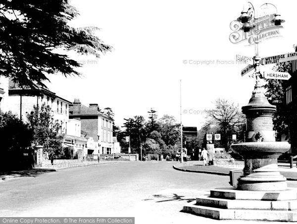 Photo of Weybridge, Oatlands Drive c.1955