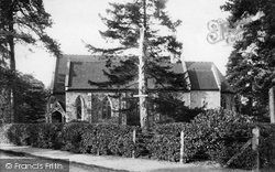 Weybridge, Oatlands Park Church 1903