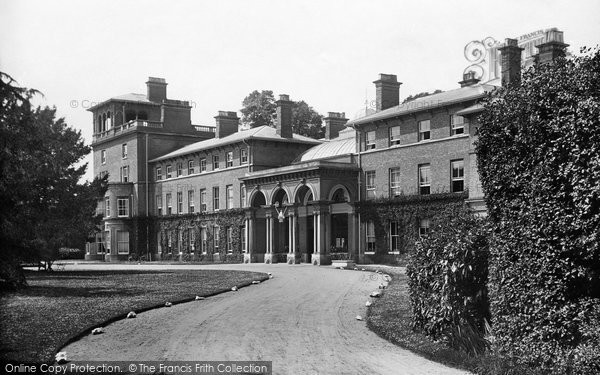 Photo of Weybridge, Oatlands Park Hotel 1906
