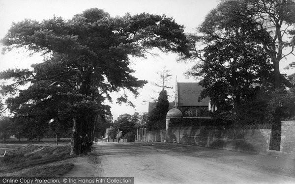 Photo of Weybridge, On The Common 1897