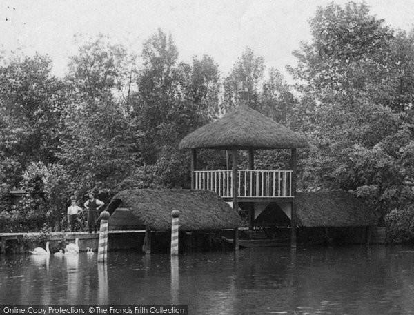 Photo of Weybridge, On The River Wey 1904