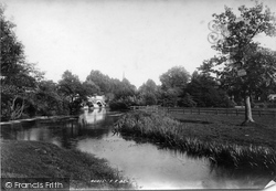 Weybridge, On The Wey 1897