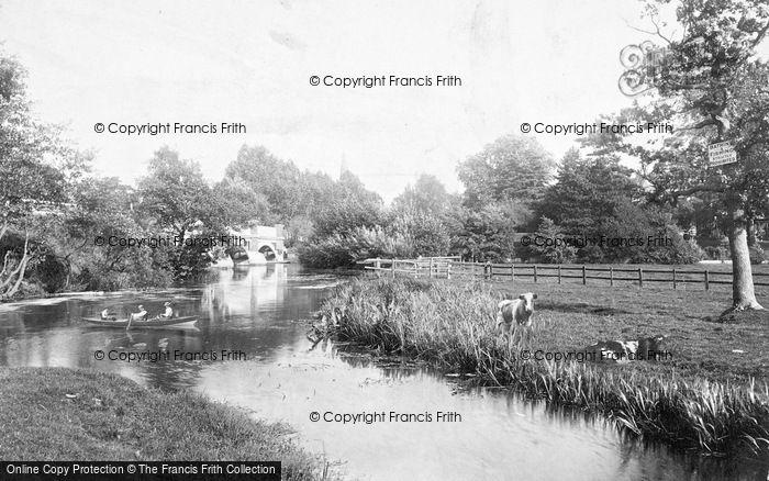 Photo of Weybridge, On The Wey 1897
