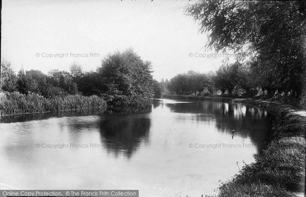 Photo of Weybridge, On The Wey 1897