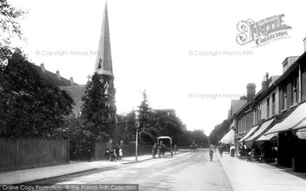 Weybridge, Queens Road c1906.  (Neg. 55654)  © Copyright The Francis Frith Collection 2008. http://www.francisfrith.com