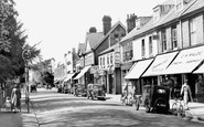 Weybridge, Queen's Road c1955