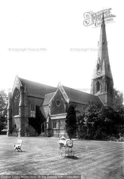Photo of Weybridge, St James' Church 1904