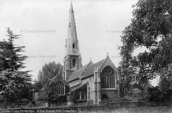 Photo of Weybridge, St James' Church 1904