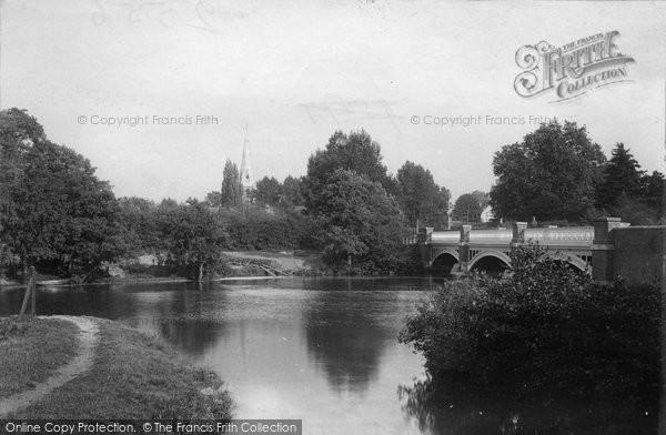 Photo of Weybridge, The Bridge 1897