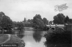 Weybridge, The Bridge 1897