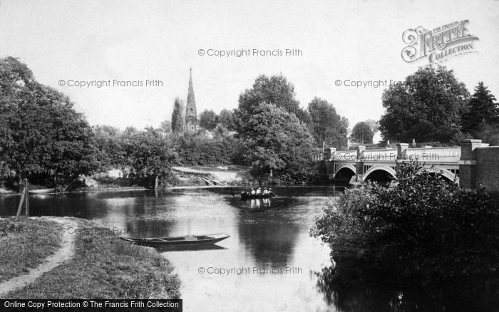 Photo of Weybridge, The Bridge 1897