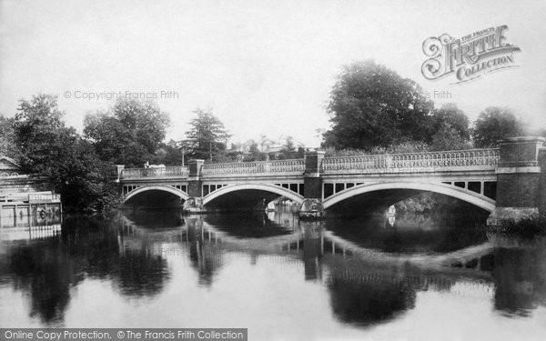 Photo of Weybridge, The Bridge 1900