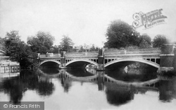 Weybridge, The Bridge 1900