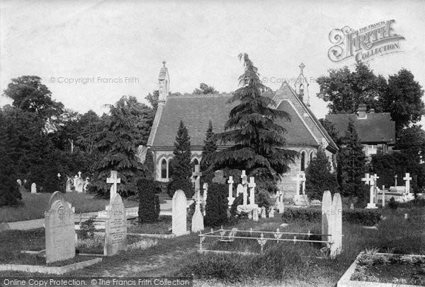Photo of Weybridge, The Cemetery 1906