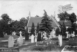 Weybridge, The Cemetery 1906