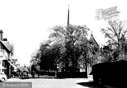 Weybridge, The Congregational Church c.1955