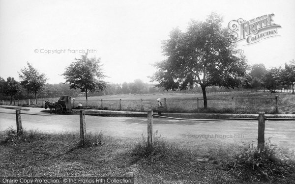 Photo of Weybridge, The Cricket Common 1903