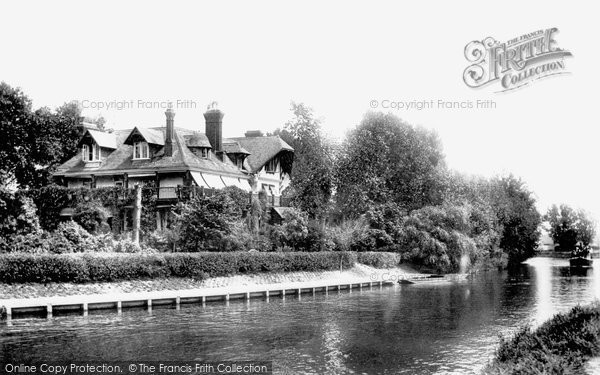 Photo of Weybridge, The Eyot 1903