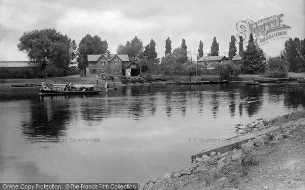 Photo of Weybridge, The Ferry 1890