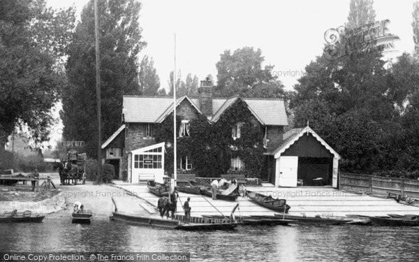 Photo of Weybridge, The Ferry 1903